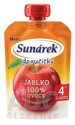 Sunárek Do ručičky JABLKO (od ukonč. 4. mesiaca) 1x100 g