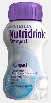 NUTRIDRINK COMPACT tekutá výživa neutrálna príchuť 24x125 ml