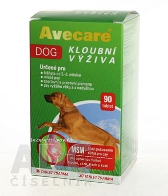 Avecare DOG kĺbová výživa tbl 1x90 ks