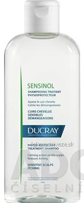 DUCRAY SENSINOL SHAMPOOING PHYSIOPROTECTEUR fyziologický ochranný šampón proti svrbeniu 1x200 ml