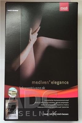 mediven elegance pančuchové nohavice veľkosť 4, (II.KT), krátke, karamel 1x1 ks