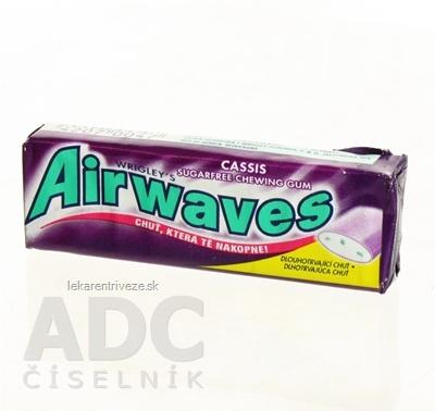 Airwaves CASSIS dražé žuvačky (a 1,4 g) 1x10 ks