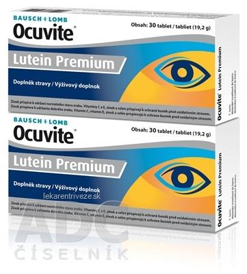 OCUVITE Lutein Premium tbl 2x30 (60 ks)