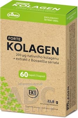 VITAR KOLAGÉN FORTE + extrakt z Boswellia serrata cps 1x60 ks