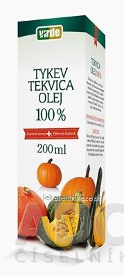 VIRDE TEKVICA 100% OLEJ 1x200 ml