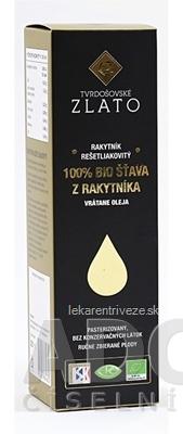 T.ZLATO 100 % BIO ŠŤAVA Z RAKYTNÍKA vrátane oleja 1x185 ml