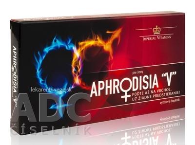 APHRODISIA V pre ženy cps (inov.2019) 1x10 ks