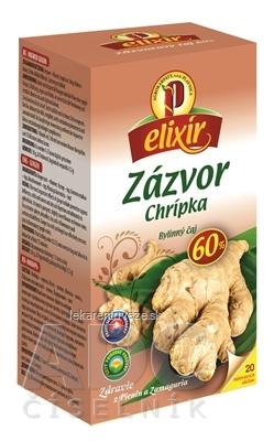 AGROKARPATY ZÁZVOR Chrípka bylinný čaj, balené vrecúška, 20x1,5 g (30 g)