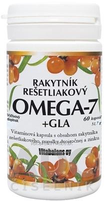 RAKYTNÍK Rešetliakový OMEGA-7 + GLA cps 1x60 ks