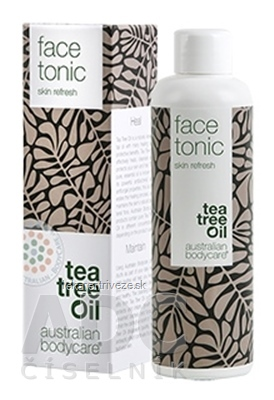 ABC tea tree oil FACE TONIC - Pleťová voda 1x150 ml