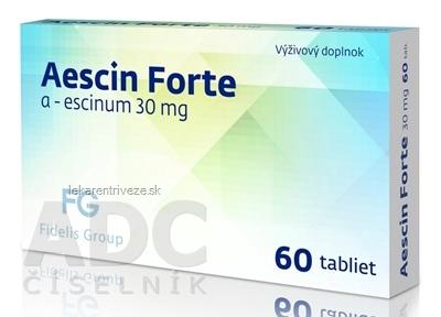 Aescin Forte 30 mg - FG tbl (inov. 2019) 1x60 ks