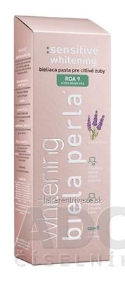 Biela perla Sensitive whitening zubná pasta s levanduľou 1x75 ml