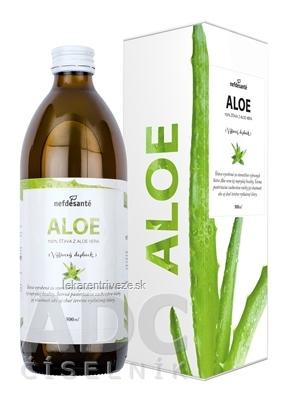 nefdesanté ALOE šťava z Aloe Vera 1x500 ml