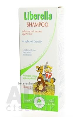 NH - Liberella šampón doplňujúca starostlivosť pri zavšivavení 1x250 ml