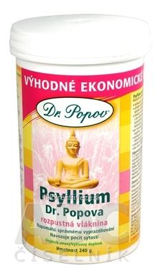 DR. POPOV PSYLLIUM rozpustná vláknina (dóza) 1x240 g