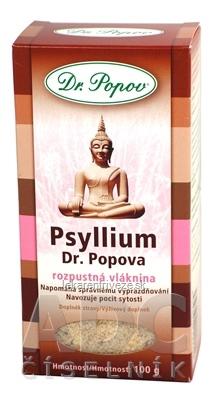 DR. POPOV PSYLLIUM rozpustná vláknina 1x100 g