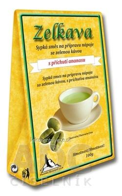 Zelkava s príchuťou ananásu sypká zmes pre prípravu nápoja 1x100 g