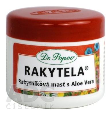 DR. POPOV RAKYTELA rakytníková masť s Aloe Vera 1x50 ml
