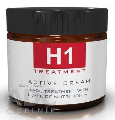H1 TREATMENT ACTIVE CREAM 24-hodinový aktívny krém na tvár 1x60 ml