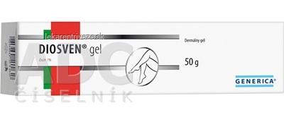 GENERICA DIOSVEN gel 1x50 g