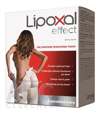 Lipoxal Effect tbl (3 mesačná kúra) 1x270 ks