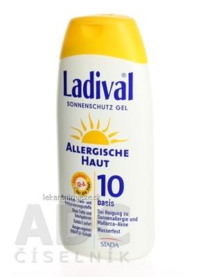 Ladival ALLERG SPF 10 gél 1x200 ml