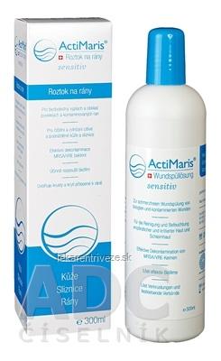 ActiMaris Sensitiv Roztok na rany (Wundspüllösung) na kožu a sliznice 1x300 ml