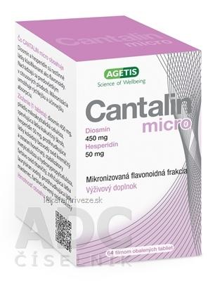 Cantalin micro tbl flm 1x64 ks