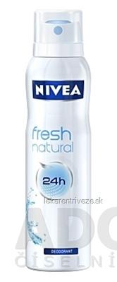 NIVEA SPREJ DEODORANT Fresh natural pre ženy 1x150 ml