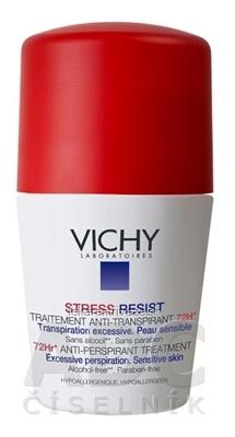 VICHY DEO STRESS RESIST antiperspirant, 72H, citlivá pokožka (M5070601) 1x50 ml