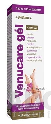 MedPharma VENUCARE GÉL NATURAL gél 120 ml+30 ml zdarma (150 ml)