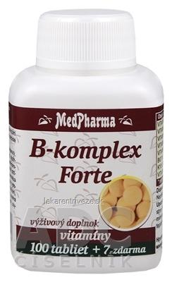 MedPharma B-komplex Forte tbl 100+7 zadarmo (107 ks)