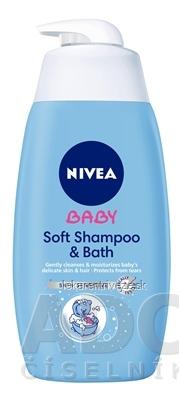 NIVEA BABY Jemný kúpeľ a šampón 1x500 ml