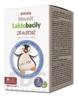 SWISS Imunit LAKTOBACILY JUNIOR tbl 30+6 zadarmo (36 ks)
