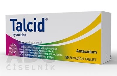 Talcid tbl mnd 500 mg (blis.PP/Al) 1x50 ks