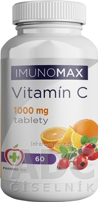 IMUNOMAX Vitamín C 1000 mg tbl 1x60 ks