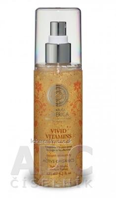 NATURA SIBERICA VIVID VITAMINS For Hair and Body živé vitamíny s okamžitou hydratáciou na vlasy a telo, 1x125 ml