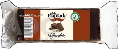 Mr.FlapJack Čokoláda Ovsená tyčinka 1x120 g