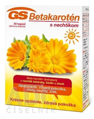 GS Betakarotén s nechtíkom cps 1x30 ks