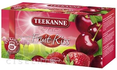TEEKANNE WOF FRUIT KISS ovocno-bylinný čaj 20x2,5 g (50 g)