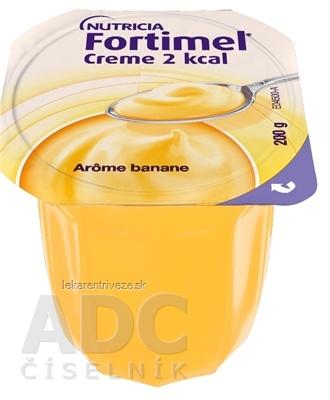 Fortimel Creme 2 kcal s banánovou príchuťou 24x200 g