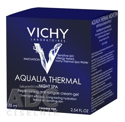 VICHY AQUALIA THERMAL NIGHT SPA intenzívny hydratačný nočný krém (M5962303) 1x75 ml