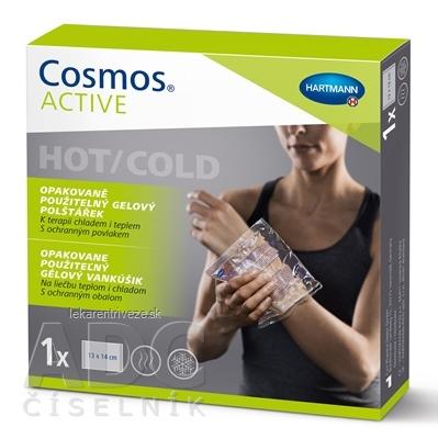 Cosmos ACTIVE Opakovane použiteľný gélový vankúšik hot/cold (13x14 cm) 1x1 ks