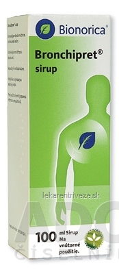 Bronchipret sirup sir (liek.skl.) 1x100 ml