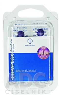 CURAPROX Detekčné tablety PCA 223 tbl 1x12 ks