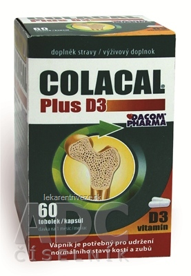 COLACAL Plus D3 cps 1x60 ks