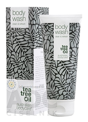 ABC Tea Tree Oil BODY WASH - Sprchový gél antibakteriálny (inov. obal 2018) 1x200 ml