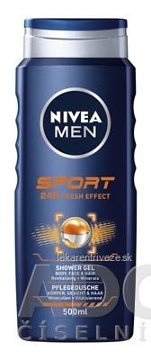 NIVEA MEN Sprchový gél SPORT 1x500 ml
