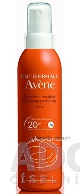 AVENE SPRAY SPF20 (PROTECTION MODÉRÉ) stredná ochrana citlivej kože 1x200 ml