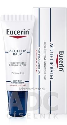 Eucerin ACUTE LIP BALM balzam na pery 1x10 ml